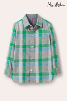 Boden Grey Casual Twill Shirt