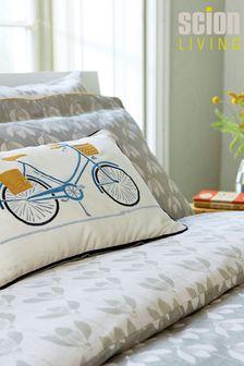 Scion Grey Snow Drop Cushion