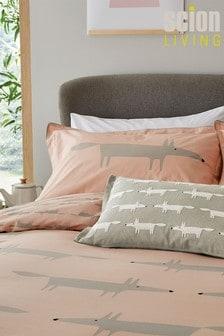 Scion Pink Mr Fox Cushion