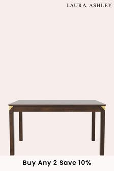 Laura Ashley Balmoral Dark Chestnut Fixed Dining Table
