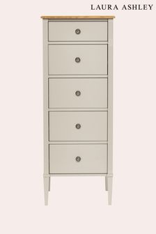Eleanor 5 Drawer Tall Chest by Laura Ashley