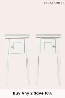 Rosalind Pair Of 1 Door Bedside Cabinets