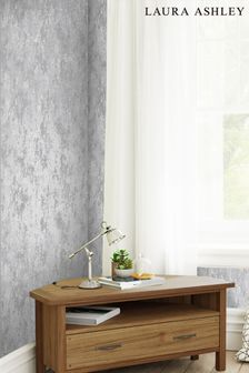 Laura Ashley Silver Whinfell Wallpaper
