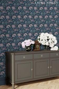 Blue Portia Wallpaper