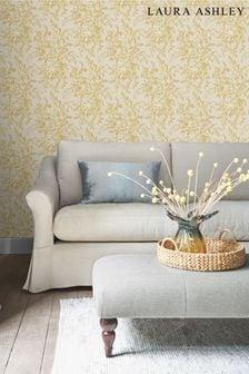 Gold Picardie Wallpaper