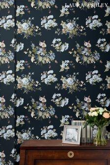 Midnight Seaspray Rosemore Wallpaper