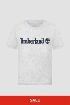 Timberland Boys Grey T-Shirt