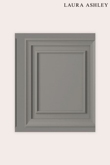 Laura Ashley Redbrook Wood Panel Wallpaper Sample