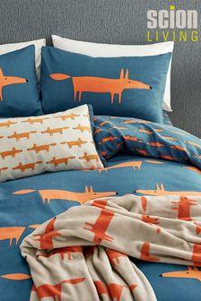 Scion Cream Mr Fox Cushion