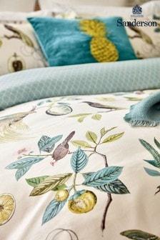 Sanderson Blue Paradesia Cushion