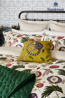 Sanderson Yellow Jackfruit Cushion