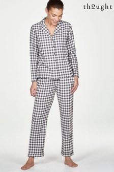 Thought Grey Luxe Pyjama Set