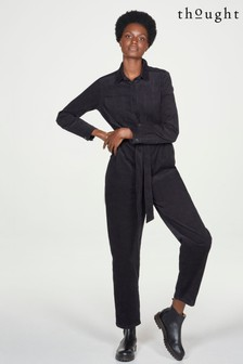 Thought Womens Black Jumpsuit