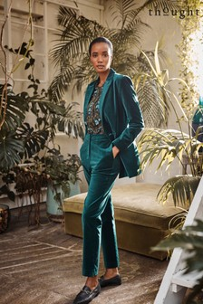Thought Green Clarence Organic Cotton Velvet Trousers