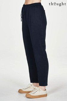 Thought Blue Luella Tencel™ Bamboo Tie Front Woven Jogger Trouser