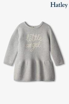 Hatley Grey Little Angel Baby Sweater Dress