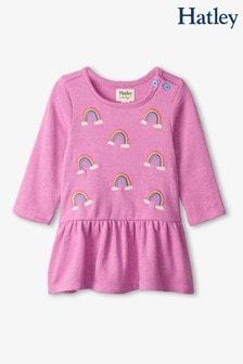 Hatley Rainbow Clouds Baby Flounce Dress