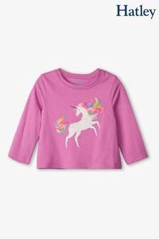 Hatley Prancing Unicorn Long Sleeve Baby T-Shirt