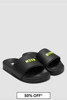 MSGM Kids Black Sandals