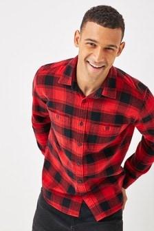 Gap Long Sleeve Flannel Check Shirt
