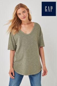 Gap Short Sleeve Slub Tunic