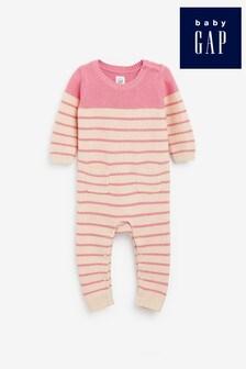 Gap Baby Striped Pocket Rompersuit