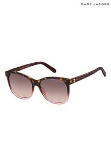 Marc Jacobs Burgundy/Pink Havana Sunglasses