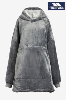 Trespass Womens Oversized Grey Cosiness Hoodie