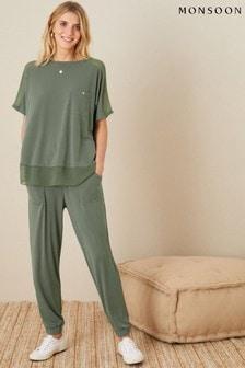 Monsoon Green Lounge Kimberley T-Shirt