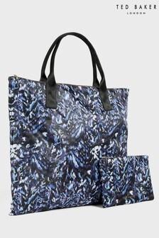 Ted Baker Nillia Urban Nylon Foldable Tote Bag