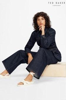 Ted Baker Auustyn High Waist Wide Leg Jeans