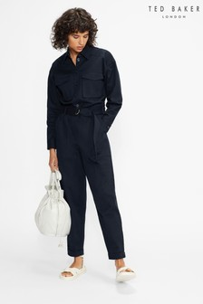 Ted Baker Berrtie Relaxed Utility Jumpsuit