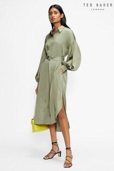 Ted Baker Sashaa Midi Shirt Dress