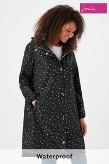 Joules Black Waybridge Coat