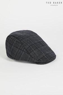 Ted Baker Gratzyy Check Flat Cap