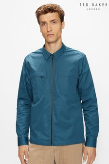 Ted Baker Rooteen Ls Technical Feel Shacket