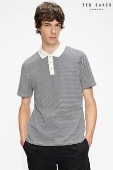 Ted Baker Krane Jacquard Texture Polo Shirt