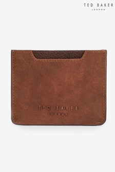 Ted Baker Follow Waxed Leather Card Holder