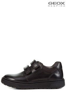 Geox Black Riddock Boys Shoes