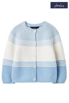 Joules Blue Haywood Stripe Cardigan