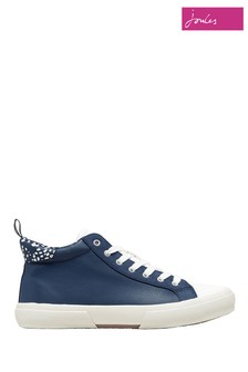 Joules Blue High Top Trainers