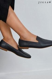 Jigsaw Jane Soft Leather Loafers