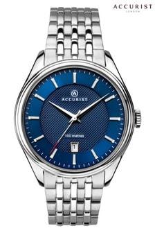 Accurist Mens Classic Silver Watch
