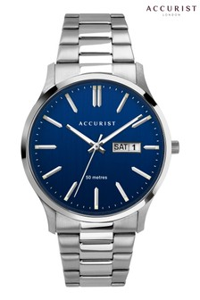Accurist Mens Classic Blue Dial Watch