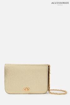 Accessorize Gold Erin Cross-Body Bag