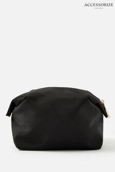 Accessorize Black Nylon Pouch