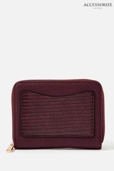Accessorize Red Card Pocket Purse