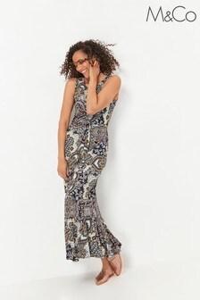 M&Co Paisley Print Maxi Dress