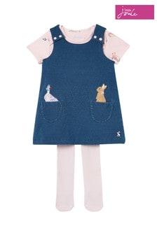 Peter Rabbit Miya BCI Cotton Pinafore Dress Set