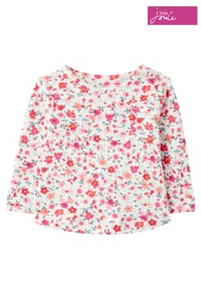 Joules Harbour Print Organic Jersey Top
